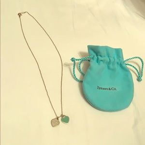 AUTHENTIC Tiffany and Co. Mini Heart Necklace